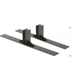 SECURIT pagrindas jungiamajam stendui (grindinio) 41x16x4.5 cm, juodos spalvos