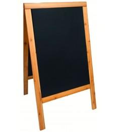 SECURIT medinis dvigubas stendas 89,5x56,5x6,5cm, smėlio spalvos rėmas