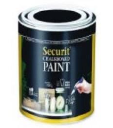 SECURIT juodi kreidiniai dažai 250 ml (5 kv.m.), stiklui, metalui, keramikai, plastikui ir medienai