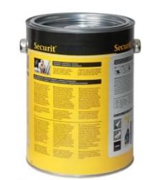 SECURIT juodi kreidiniai dažai 2,5 l (30 kv.m.), stiklui, metalui, keramikai, plastikui ir medienai