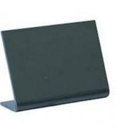 SECURIT kreidinė lentelė A8, 5 vnt., pastatoma, L formos, juoda,