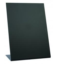 SECURIT kreidinė lentelė A5, 3 vnt., pastatoma, L formos, juoda