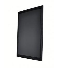 SECURIT kreidinė lenta (sieninė) 70x90 cm, juodos sp.