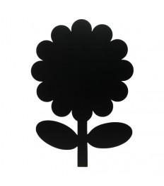 SECURIT kreidinė lentelė siluetas GĖLĖ 43x39x0.3 cm, su žymekliu ir lipdukais