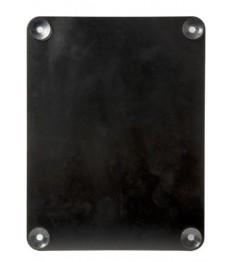 SECURIT kreidinė lentelė reklamai ant lango 36x27x1,8 cm, dvipusė, juodos sp.