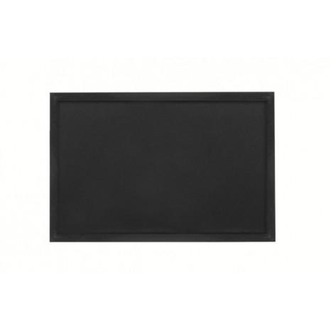 SECURIT juoda lenta (pakabinama) 40x60x1,5cm, juodos sp.