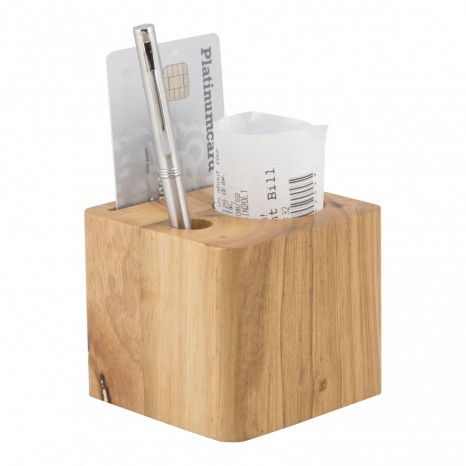 Kubo formos Securit medinis stovelis 7x8x8cm, tušinukui, banko kortelei, čekiui