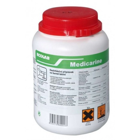 Dezinfekuojančios tabletės Medicarine 300 tabl.
